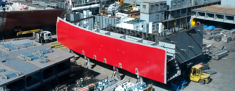 New building supervision services and ship design review
